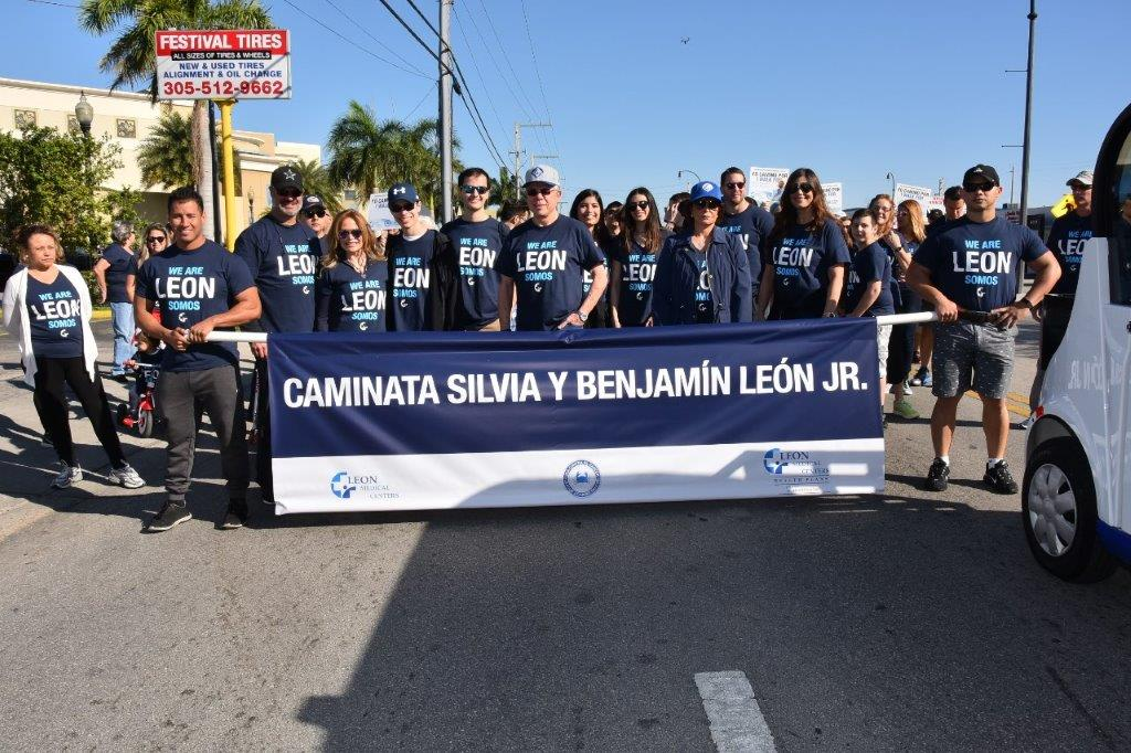 The 8th Annual Silvia and Benjamin Leon, Jr. Walk to Benefit the League Against Cancer